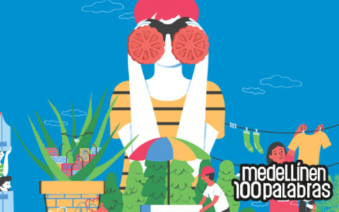Medellín en 100 Palabras