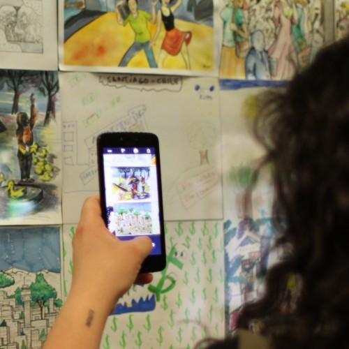 Concurso de ilustración Santiago en 100 Palabras